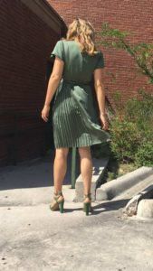 Green, fashion, shopping, blogger, CA, TX, Banana Republic, Investment Piece