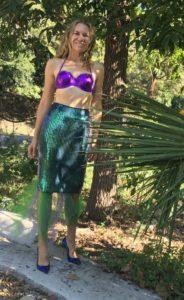 Fashion Halloween, mermaid, investment piece, blogger, CA, TX