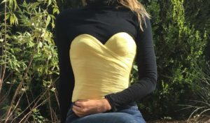 Yellow, InvestmentPiece, fashion, vintage, la perla, turtleneck, Tx, la, blogger
