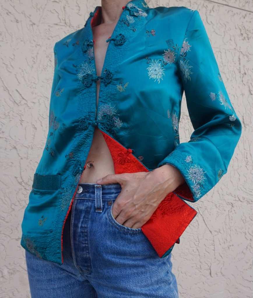InvestmentPiece, fashion blogger, Levi's, kimono, CA, TX