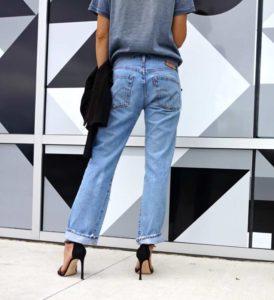 Investment Piece, Fashionblogger, sass, vintage, Levi's, custom, Stuart Weitzman, CA, TX