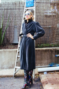 Investment Piece, Fashionblogger, cold weather, vintage, high fashion, YSL , Valentino, CA, TX