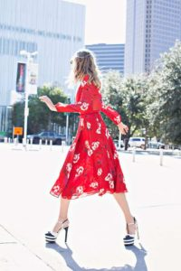 Investment Piece, fashion blogger, floral, Gucci, CA, TX
