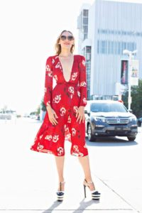 Investment Piece, fashion blogger, floral, Gucci, TX, CA