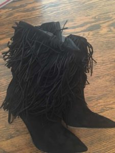 Investment Piece, fashion, boots, fringe, for sale