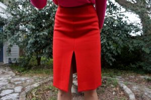 Investment Piece, fashion, blogger,color block, red//pink, Jcrew, Ca, TX
