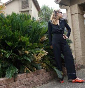 Investment Piece, fashion blogger, high fashion, Zara, Beehive, pj dressing, jumpsuit, CA, TX