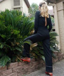 Investment Piece, fashion blogger, high fashion, pj dressing, jumpsuit, PJ Jumpsuit, Zara, Beehive, CA, TX