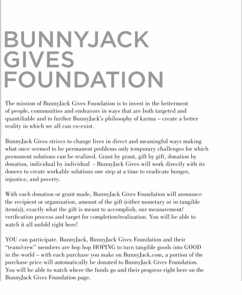 Investment Piece: Fashion Gives Back: Bunny Jack