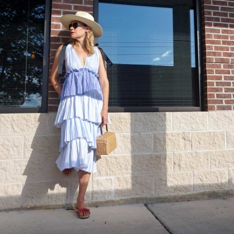 Investment Piece: Ruffles and Stripes