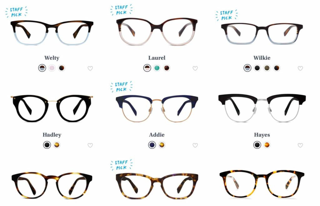 Investment Piece: Fashion Gives Back: Warby Parker