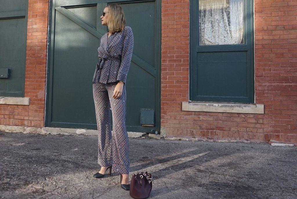 Investment Piece: how to rock a PJ Suit, #suitup