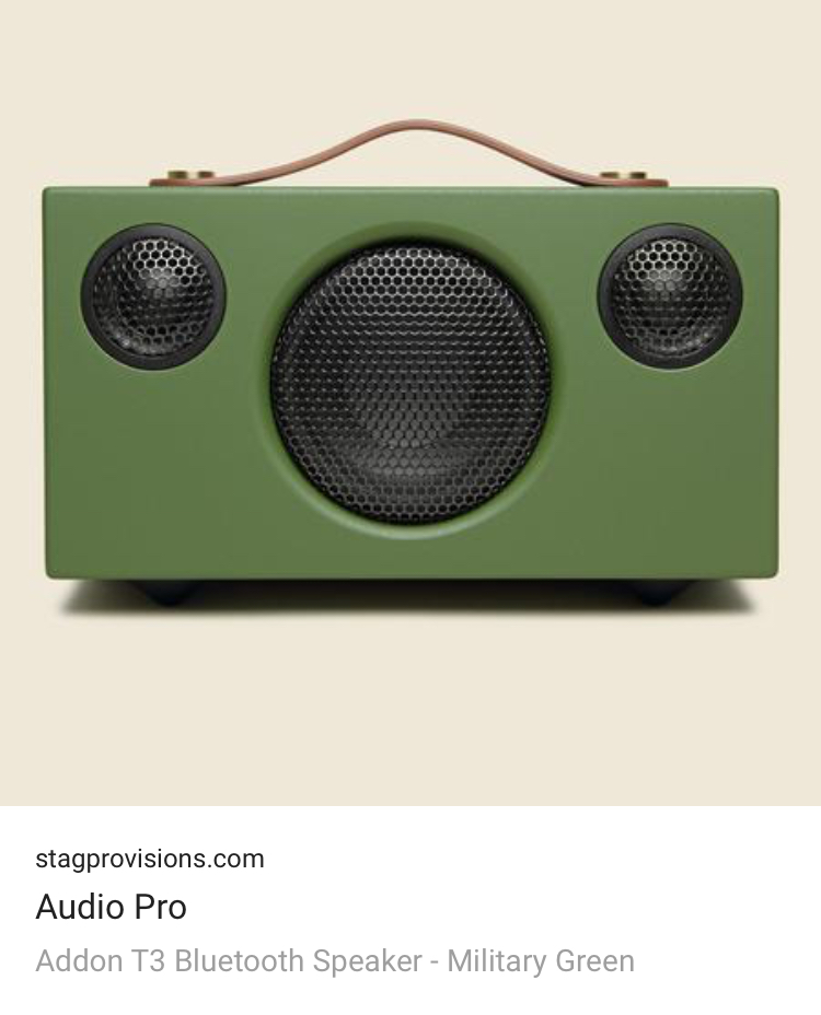 Investment Piece: Gift Guide, music lovers