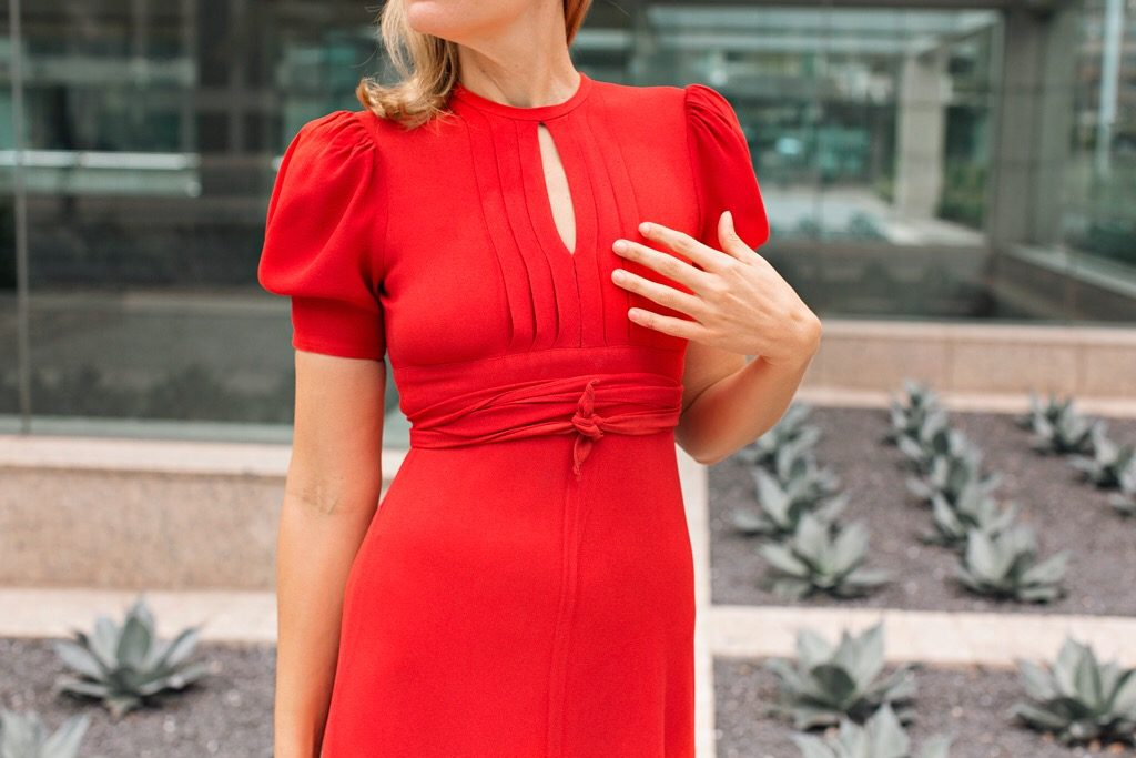 Investment Piece: Holiday Red