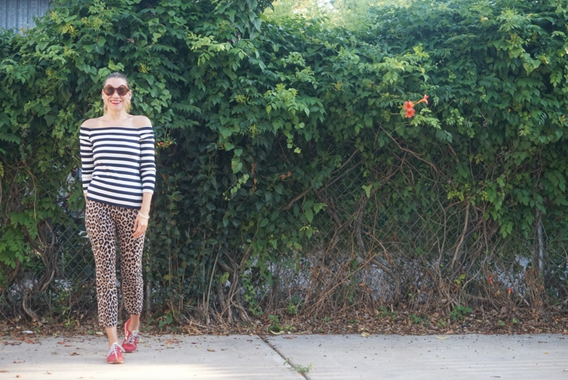 Investment Piece: Florals + Leopards + Stripes