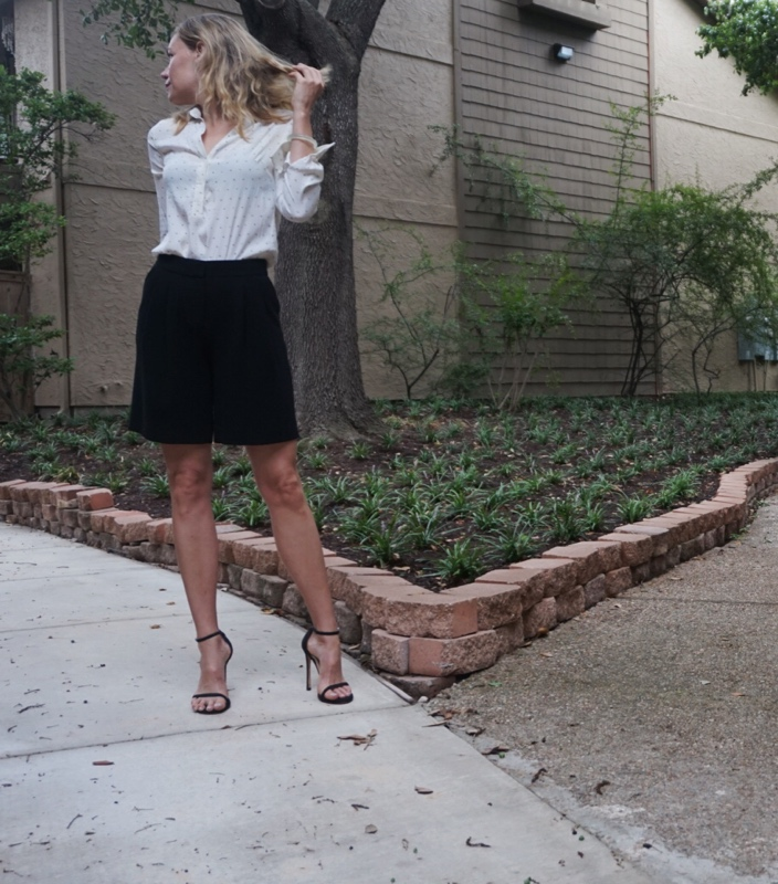 Investment Piece: Shorts with Heels