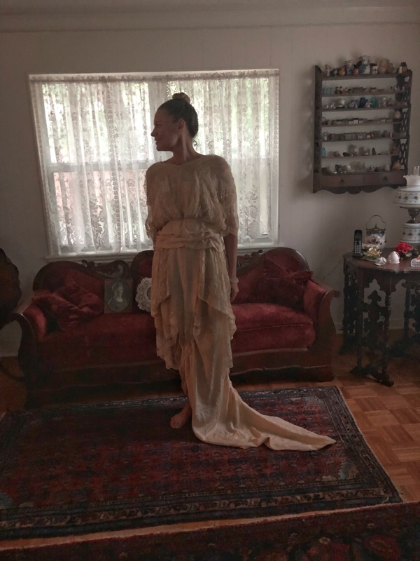 Investment Piece: Out of the Closet: Great Great Grandma's dress