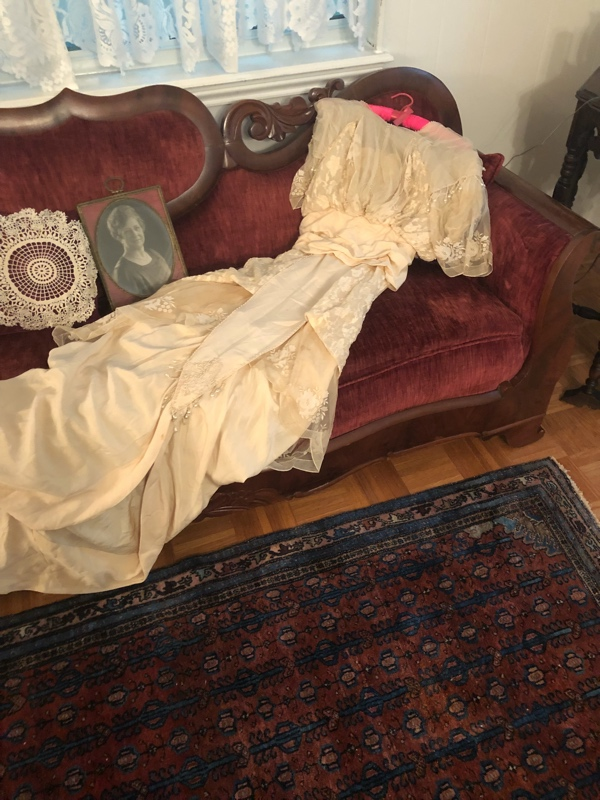 Investment Piece: Out of the Closet: Great Great Grandma's Wedding Dress