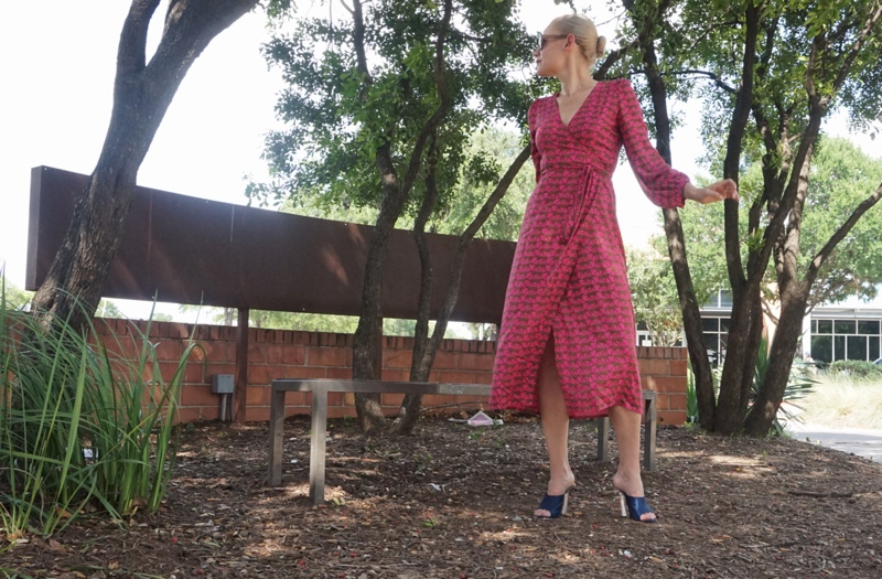 Investment Piece: Wild Wild Wrap Dress