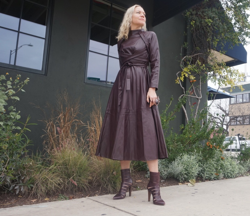 Investment Piece: A Leather Dress