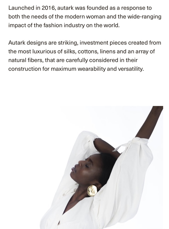 Investment Piece: Where to Shop Autark