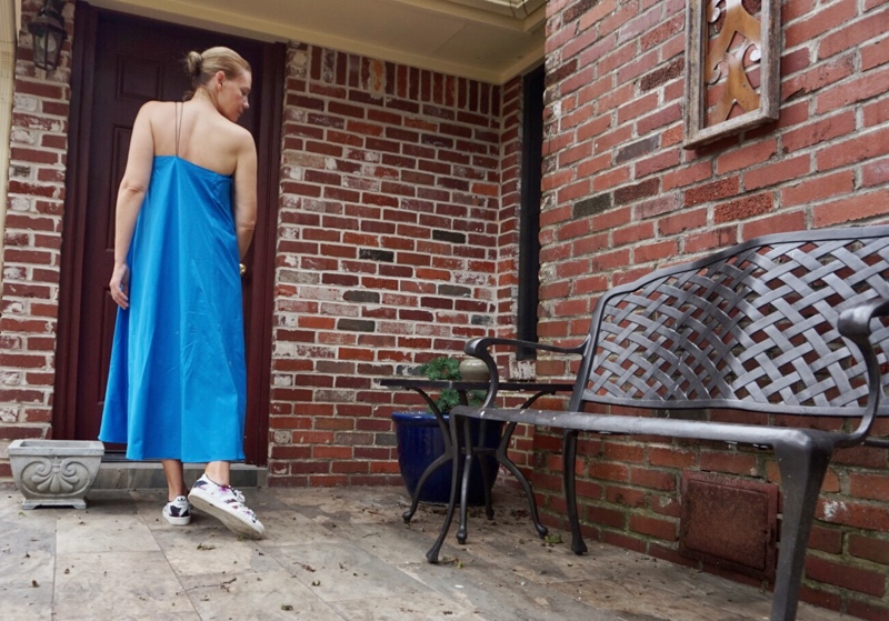 Investment Piece: In a Blue Dress